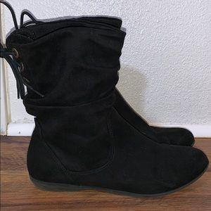 American Eagle Black Booties